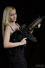 assault rifle photo
