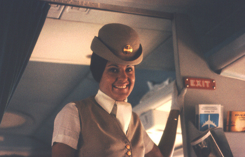 flight attendant photo